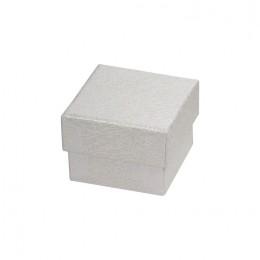 Χάρτινο Κουτί Δαχτυλιδιού Λευκό