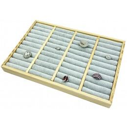Κασετίνα με ρολλά για Δαχτυλίδια από Ξύλο