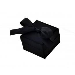 Κουτί Πολυτελείας για Βέρες Μαύρο  Σ-CAMP1