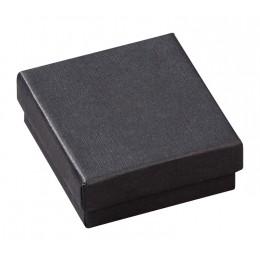 Slim Κουτί για Δαχτυλίδι και Σκουλαρίκια Μαύρο